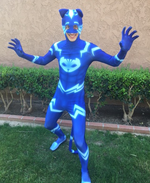 Cat Boy PJ Masks Party Character