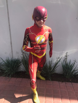 Flash Party Character for Hire