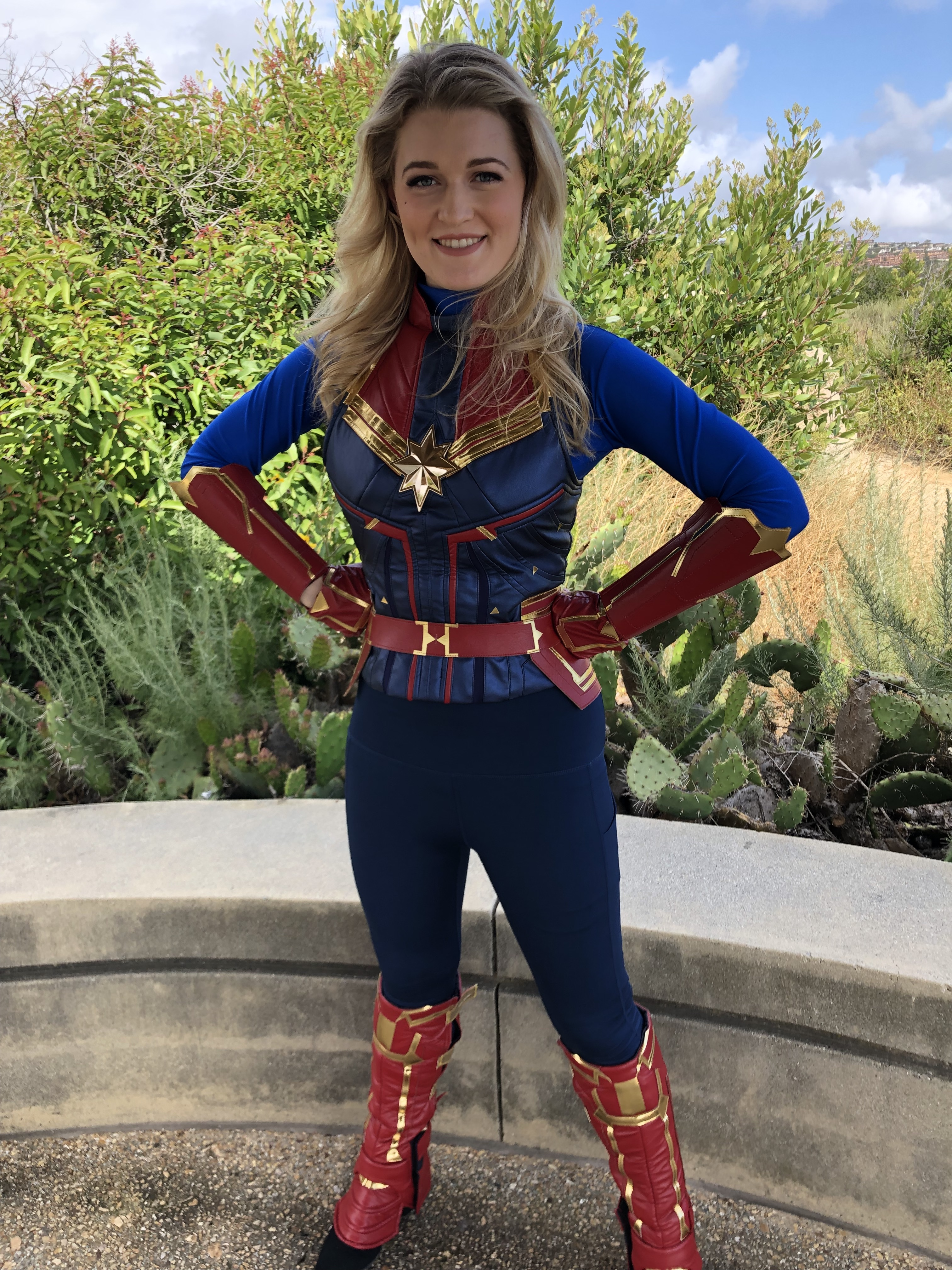 Captain Marvel Character for Hire