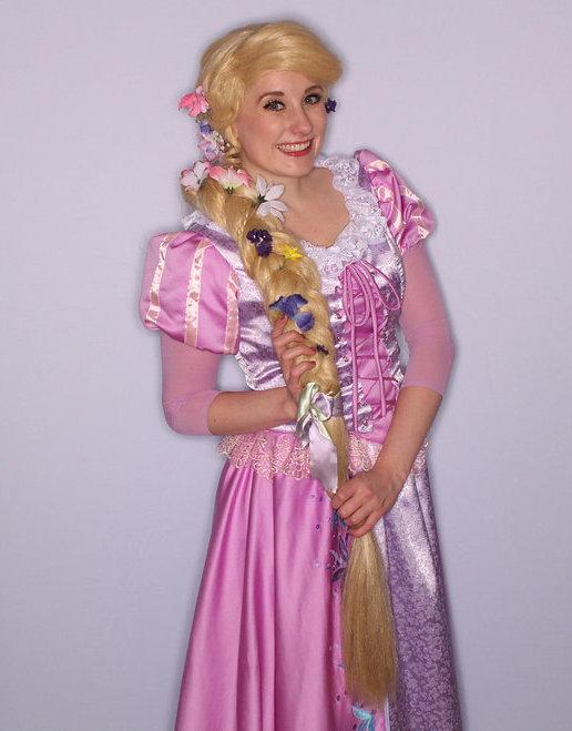 Princess Rapunzel Character for Hire