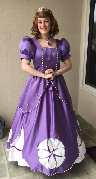 Sofia the First Party Character