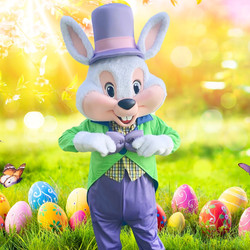 Easter Bunny character for hire