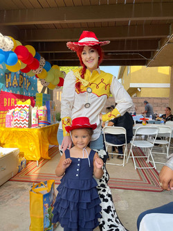 Toy story kids party character