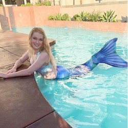 Swimming Mermaid for parties and events
