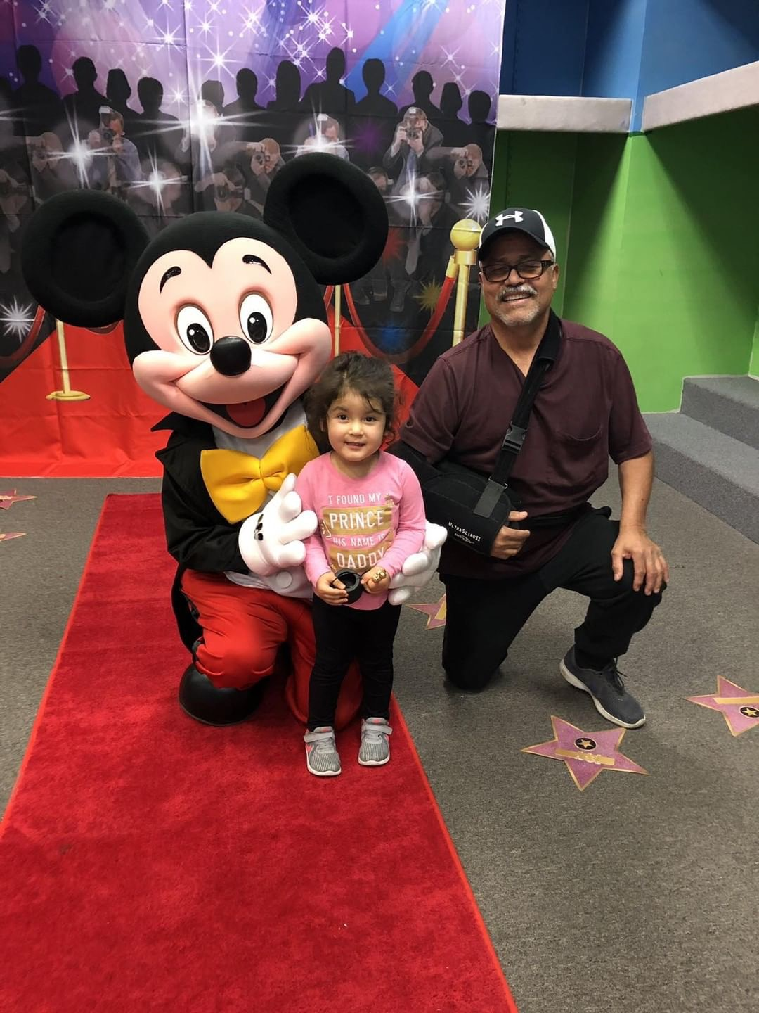 Red Carpet Event with Mickey