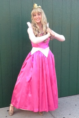 Sleeping Beauty Character for hire