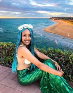 Mermaid for parties