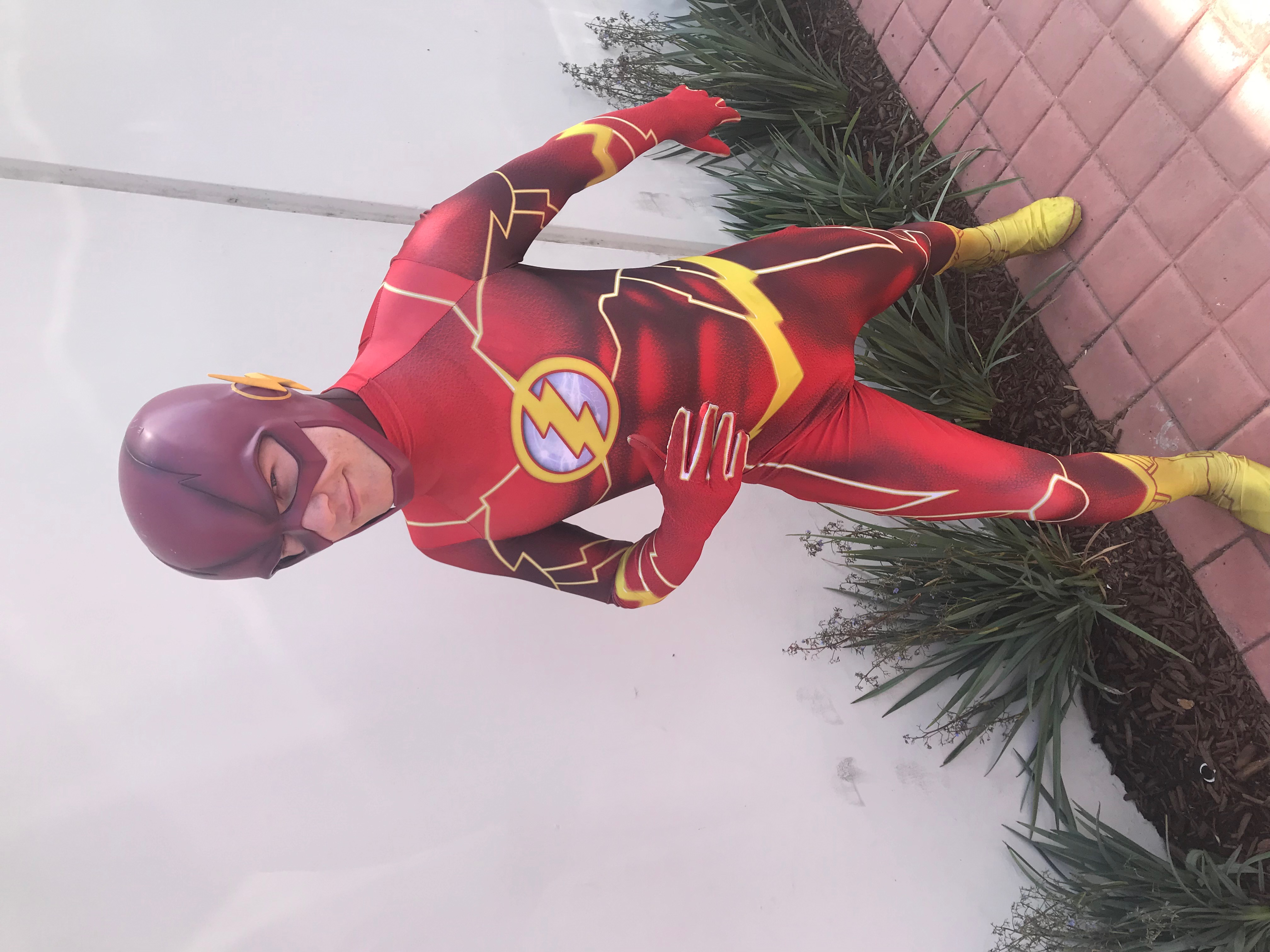 Flash Party Character for Kids