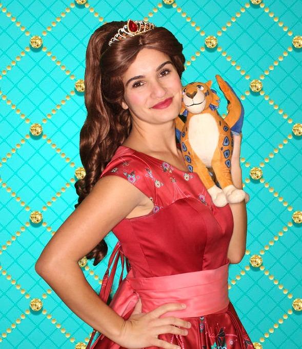 Princess Elena themed party