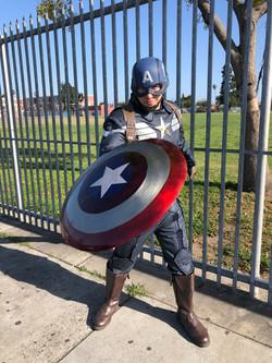 Captain America Birthday Party Theme