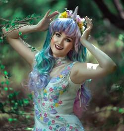 Unicorn Princess Party Character