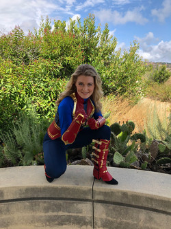 Captain Marvel Party for Kids