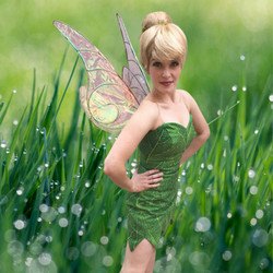 Tinkerbell Party Character for hire