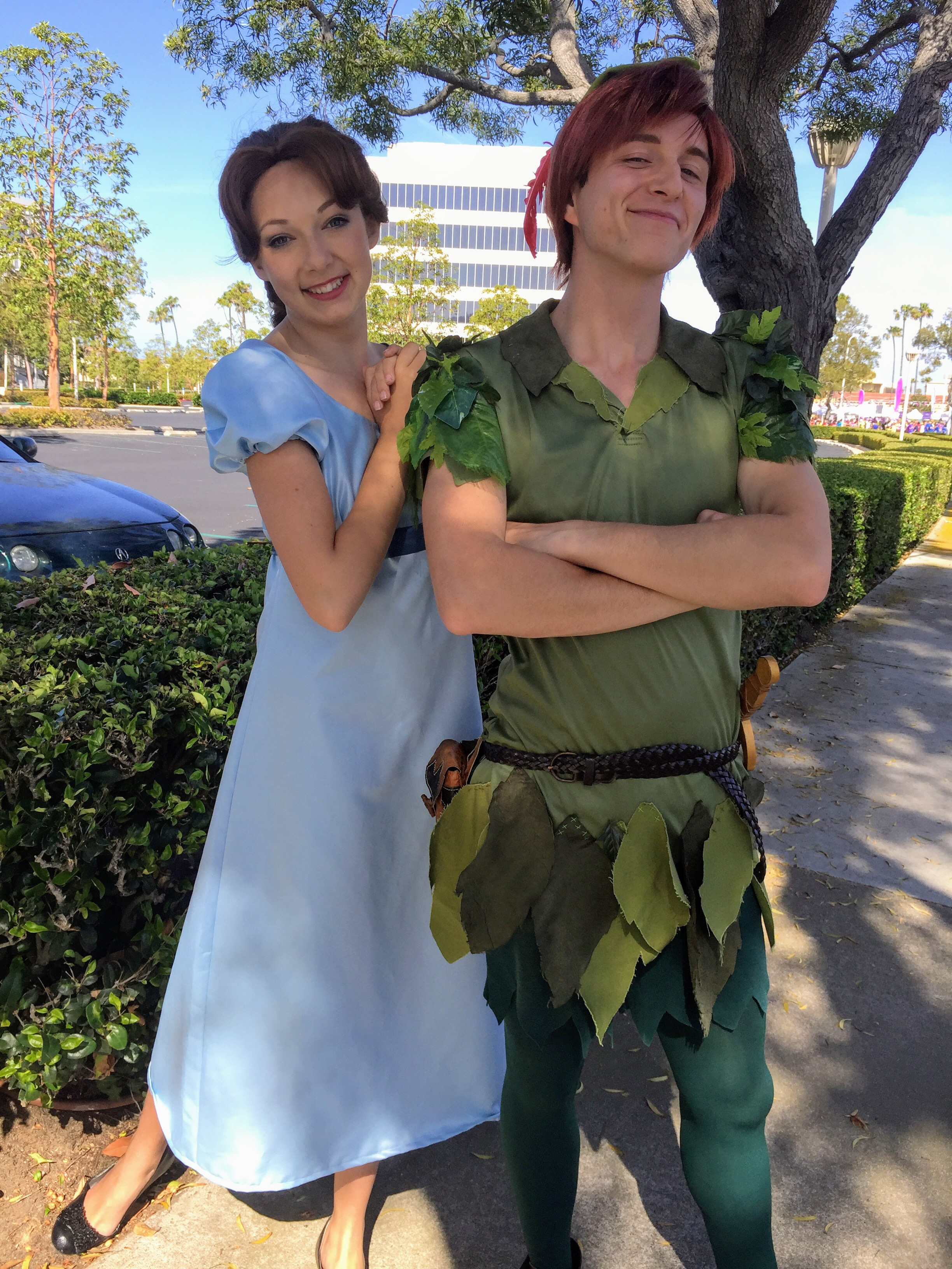 Peter Pan and Wendy Party Characters