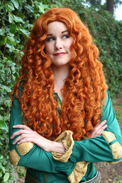 Merida Party Character for Hire