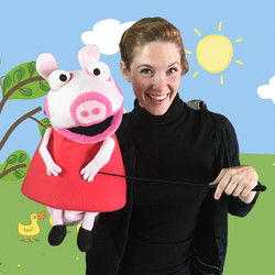 Peppa Pig character for parties