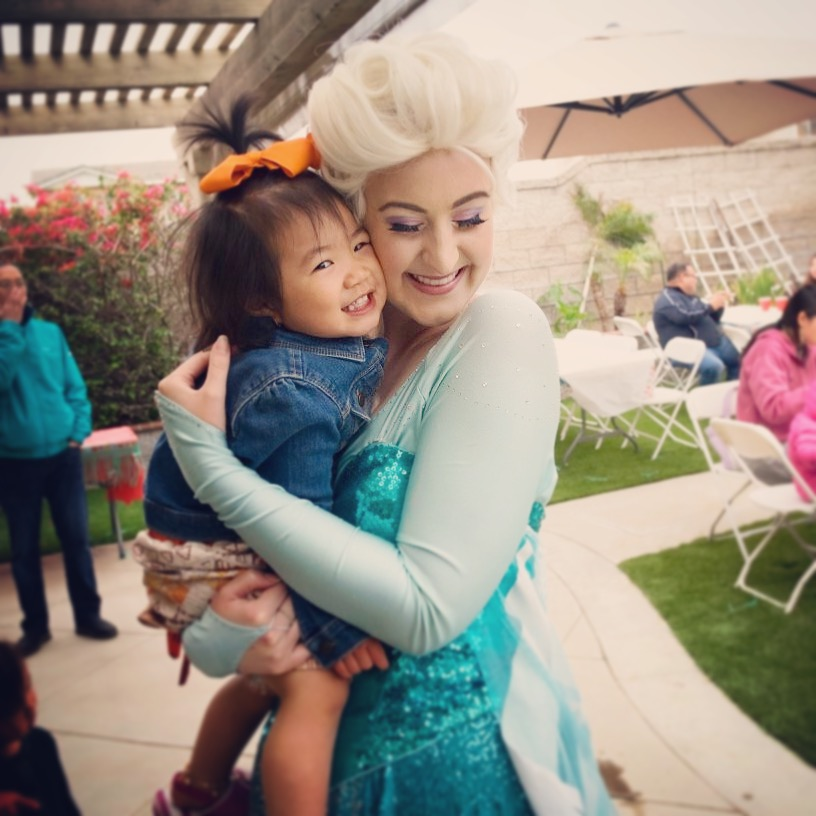 Elsa Party Character for Kids