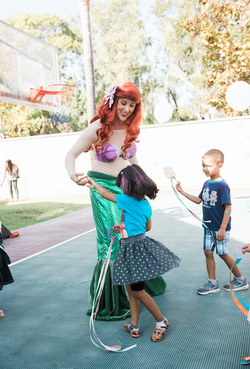 Ariel Character for Hire