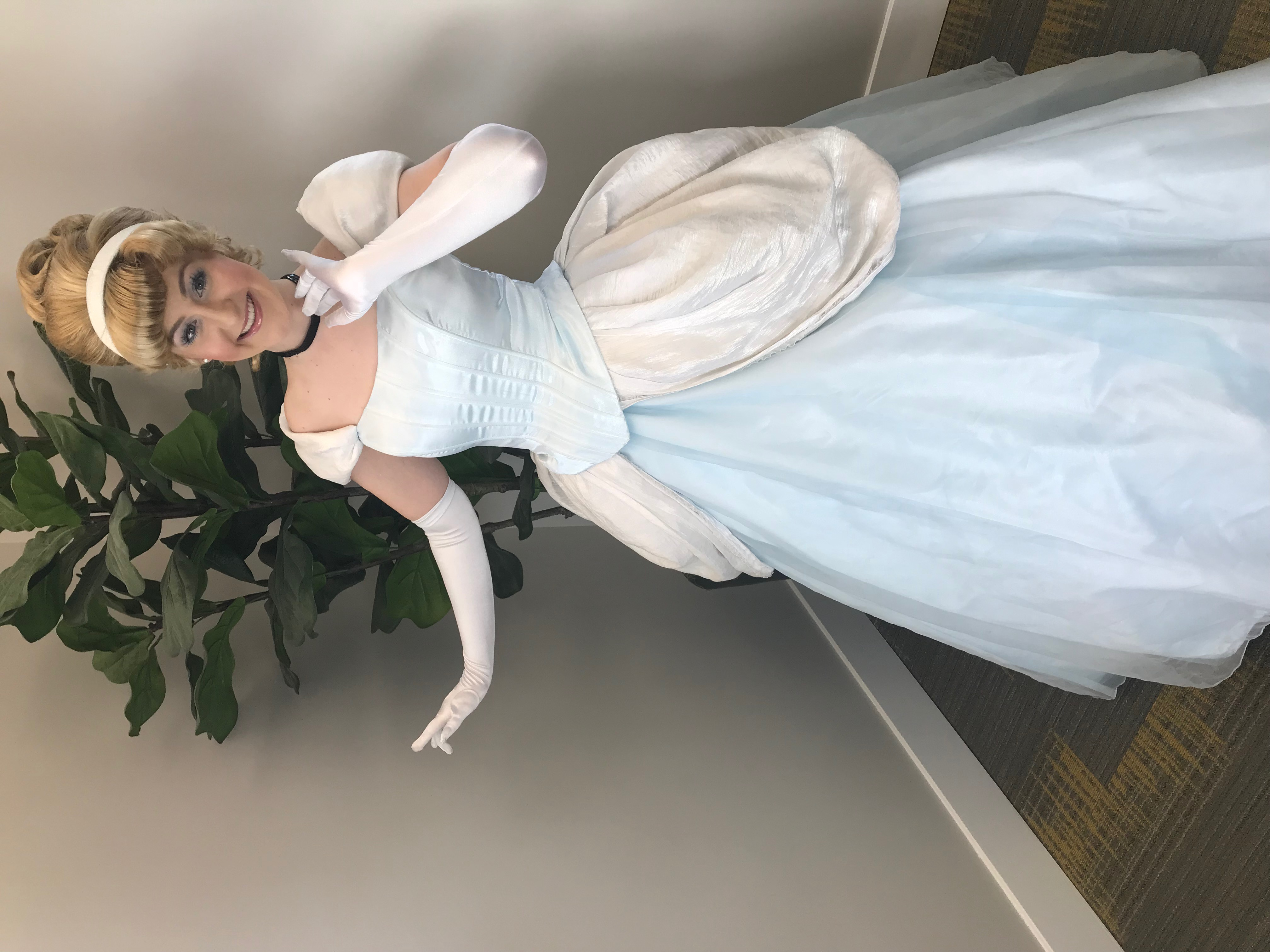 Cinderella themed birthday party