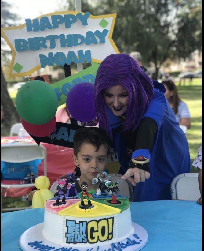 Teen Titans Theme Party