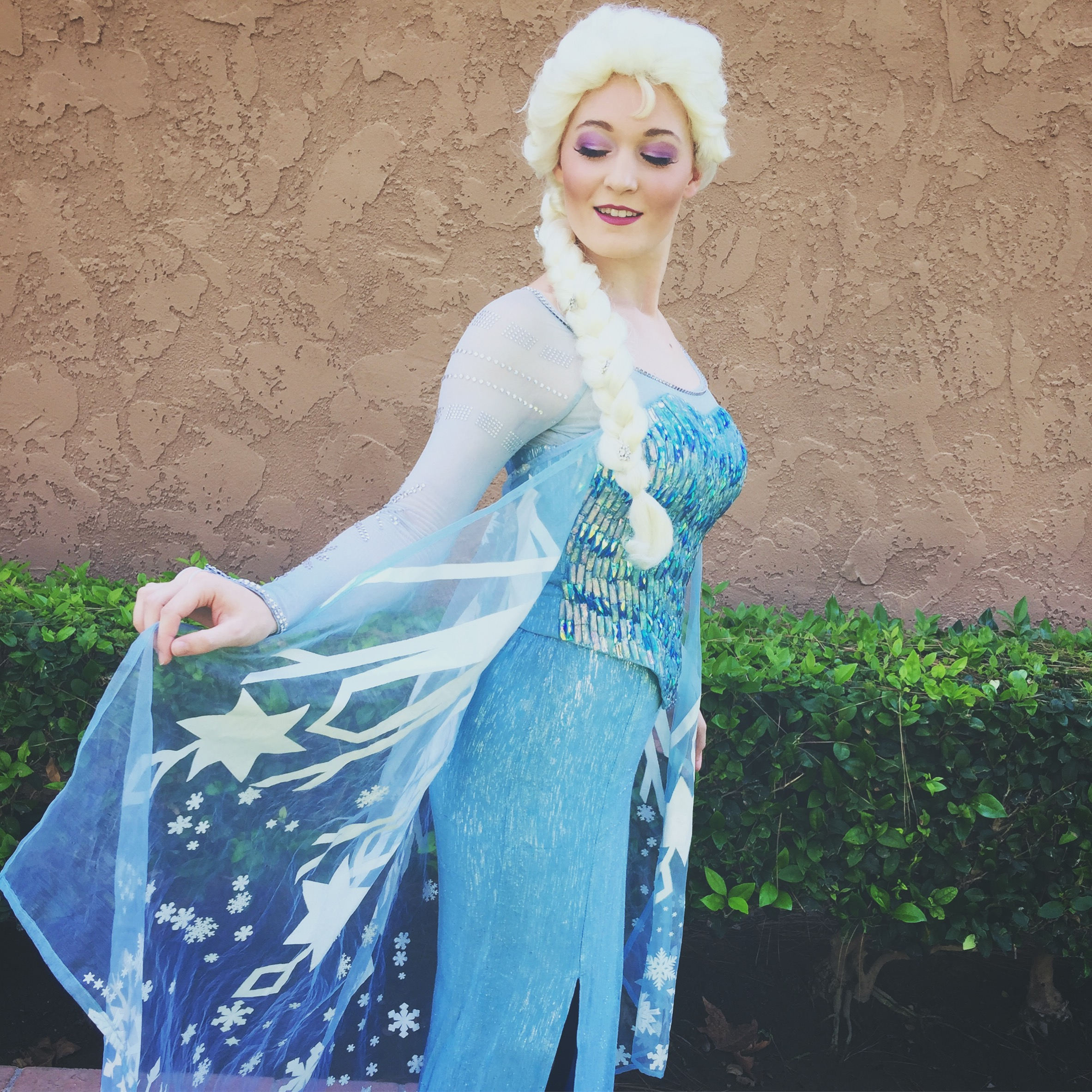 Elsa for Birthday party