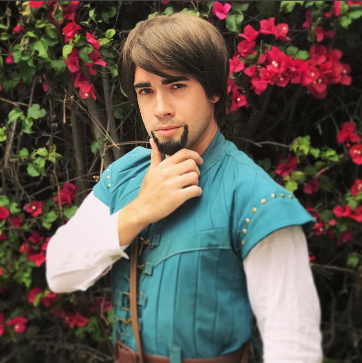 Flynn Rider Party Character