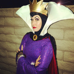 Evil Queen Party Character