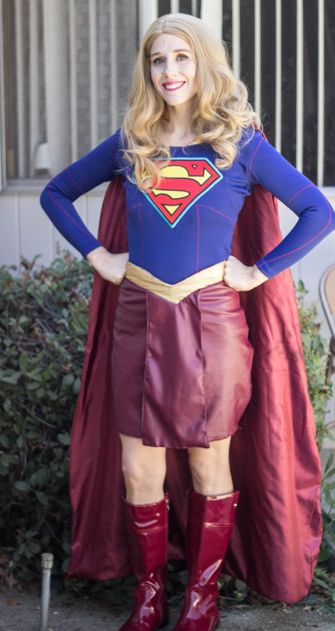 Supergirl Party Character