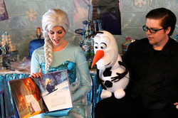 Frozen Birthday Party Characters