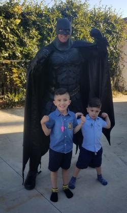 Batman themed birthday los angeles
