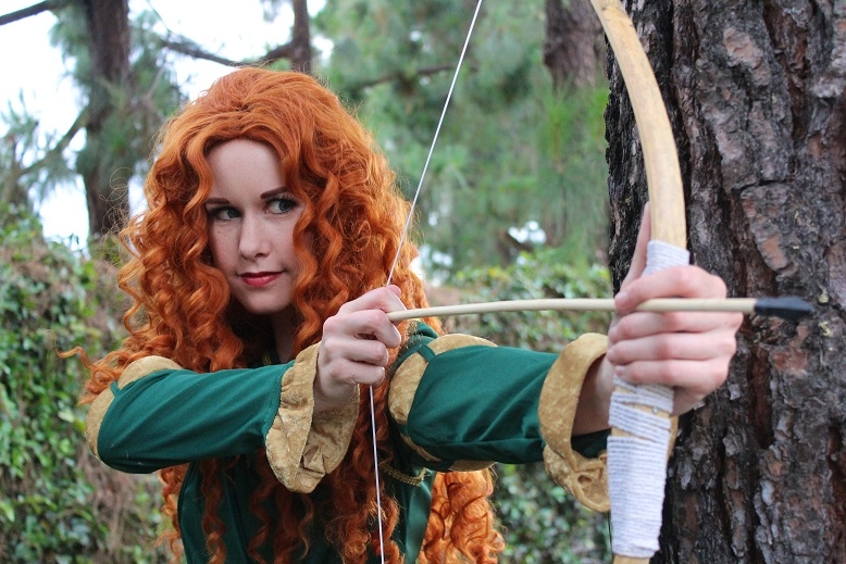 Merida Party Character