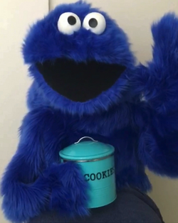 Cookie Monster character for hire