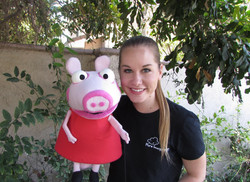 Peppa Pig Puppet for Hire