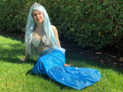 Mermaid character for hire