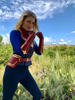 Captain Marvel Kids Party