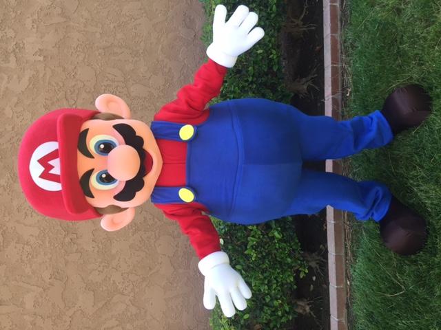 Mario Birthday Party Character