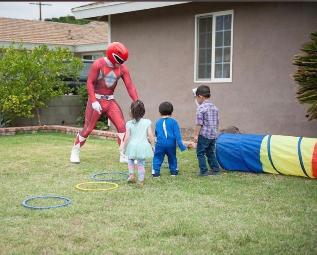 Power Ranger Obstacle Course