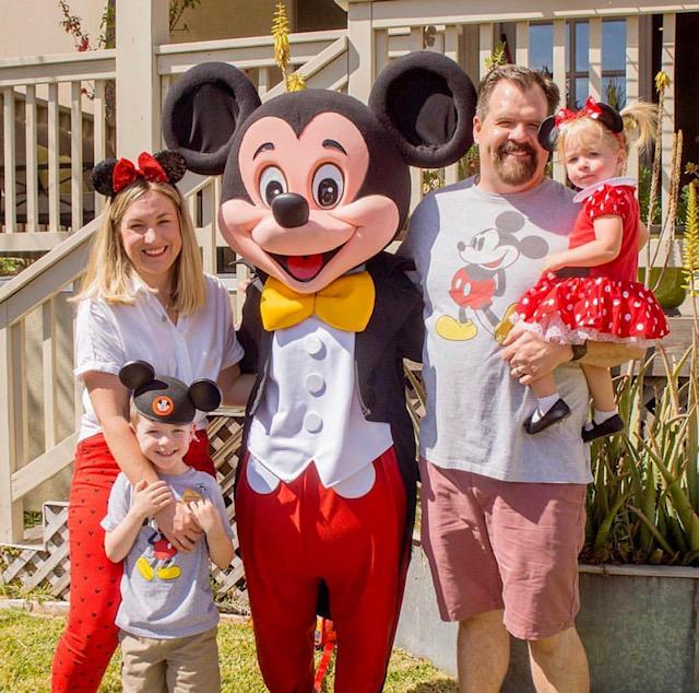 Mickey themed party