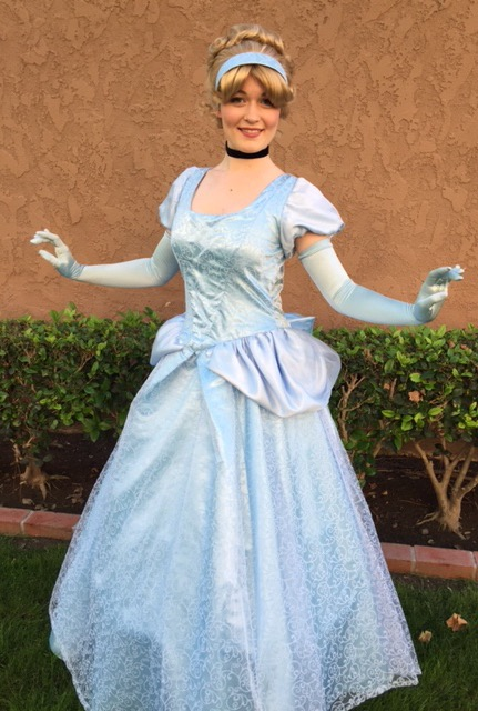Cinderella Party Character for Hire