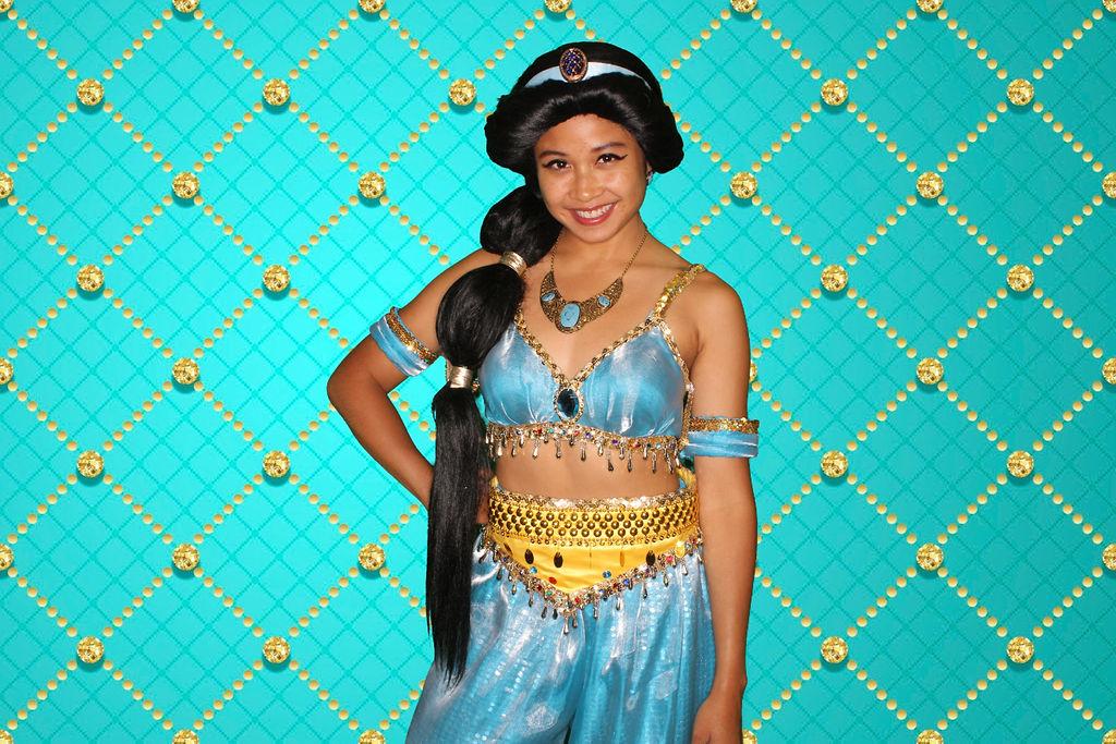 Jasmine themed birthday party
