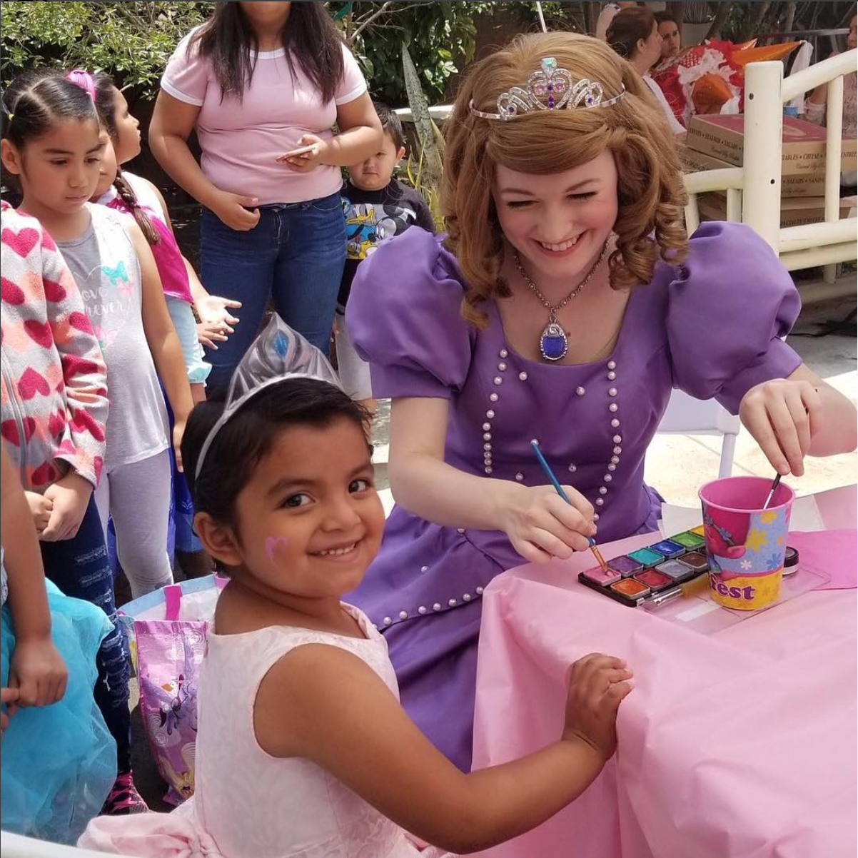 Sofia the First Theme Party