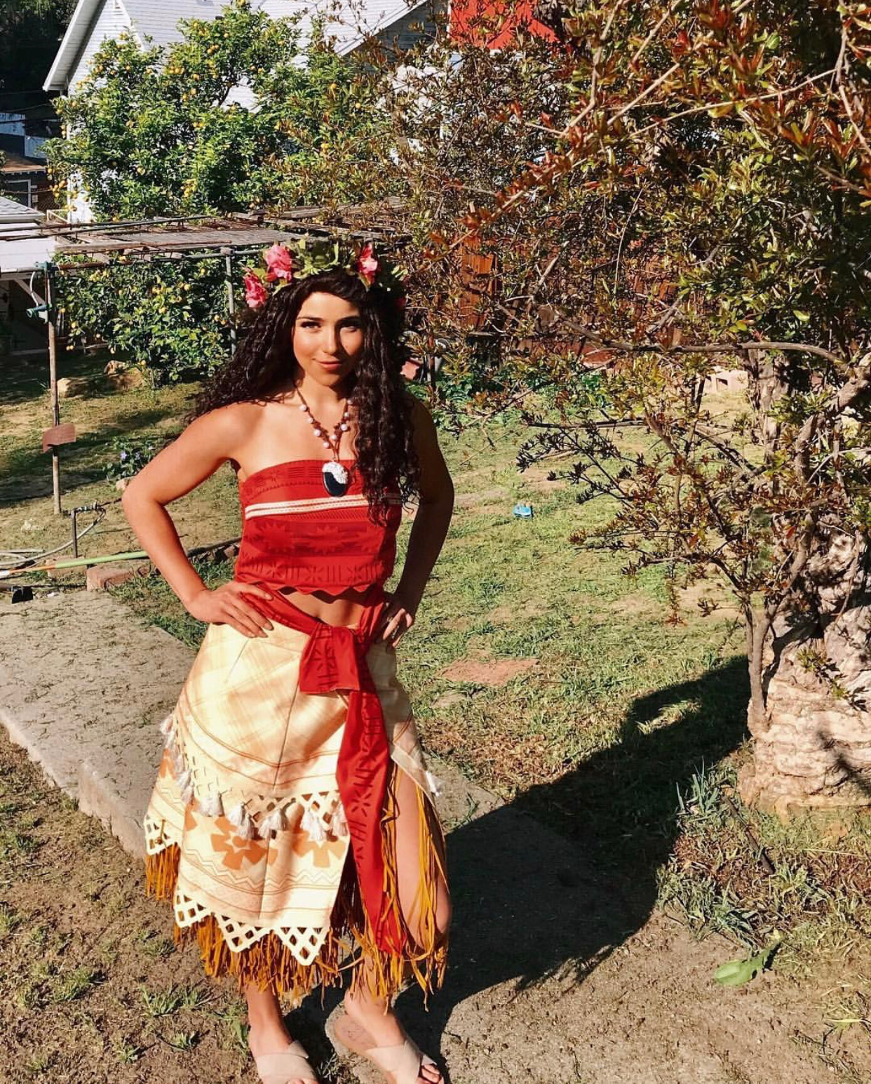 Moana character for parties LA