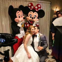 Characters for Disney Wedding