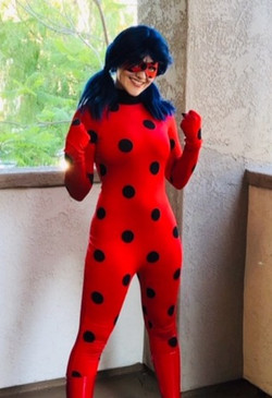 Miraculous ladybug character for parties