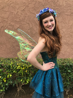 Blue Fairy Party Character