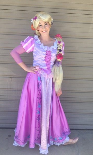 Rapunzel Character for Hire