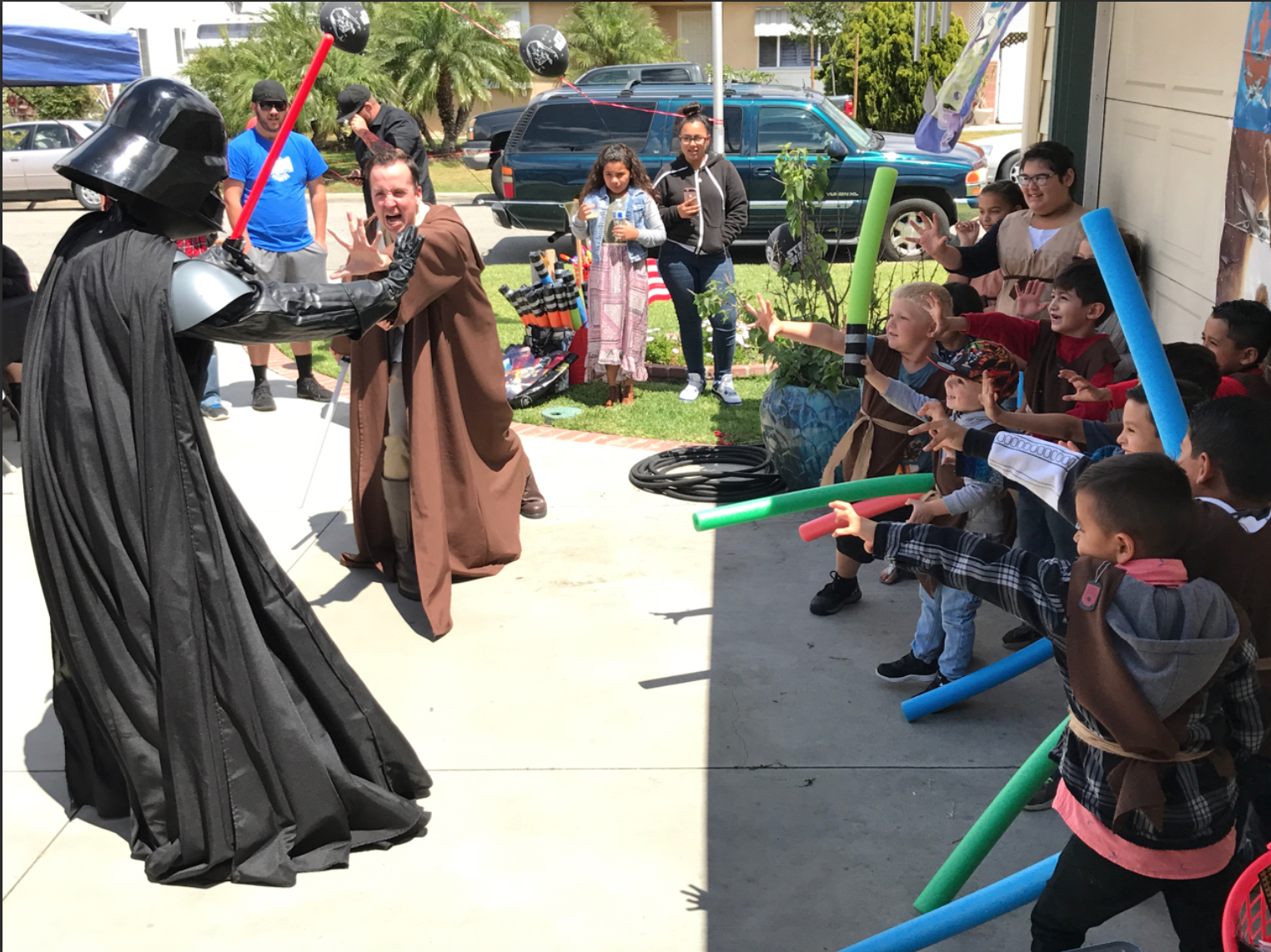 Darth Vader and Jedi Party Character