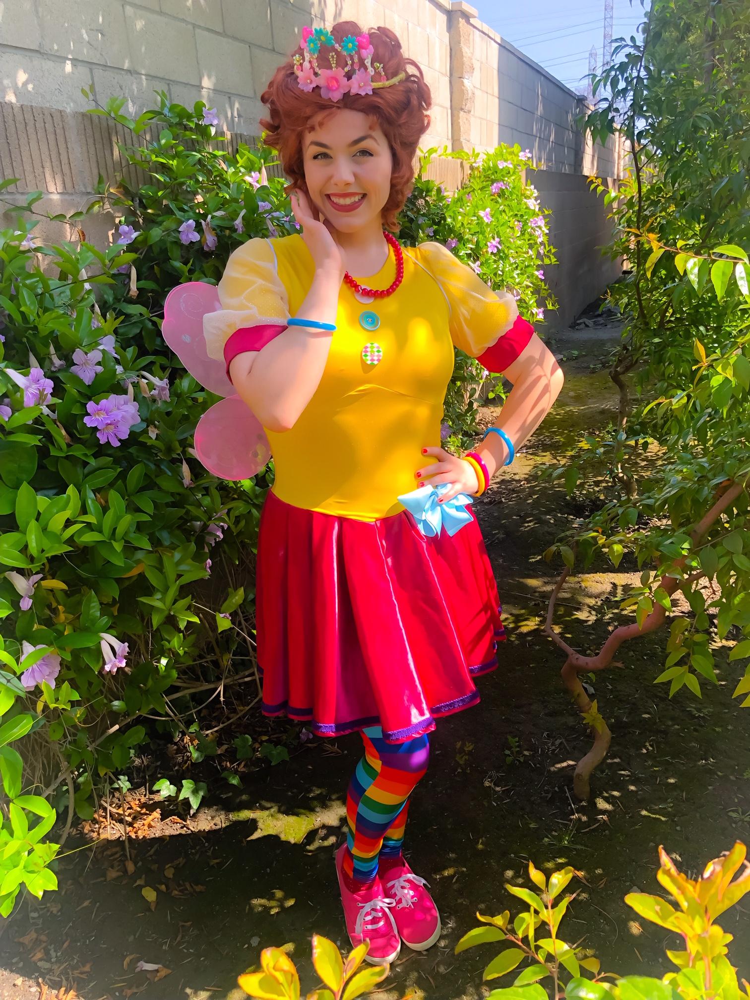 Fancy Nancy Party Character