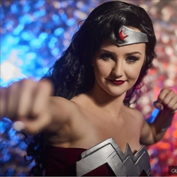 Wonder Woman Party Character