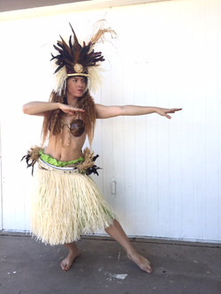 Hula Dancer Character for Hire